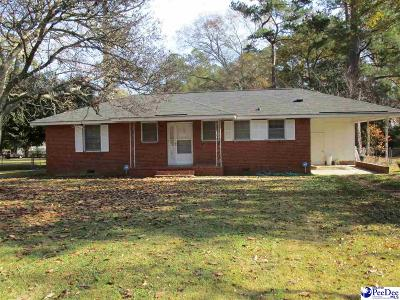 Florence Single Family Home For Sale: 1912 Barnwell Drive