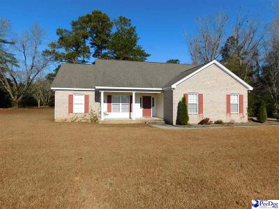 Timmonsville Single Family Home Uc/Show For Back Up: 815 Timmons Road