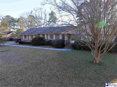 Florence Single Family Home For Sale: 3854 Pine Needles Rd.