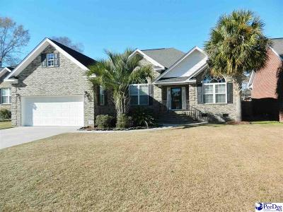 Florence Single Family Home New: 1815 Wax Myrtle Dr.