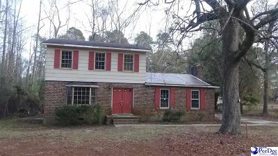 Marion SC Single Family Home Uc/Show For Back Up: $45,500