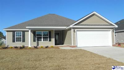 Florence SC Single Family Home Uc/Show For Back Up: $163,500