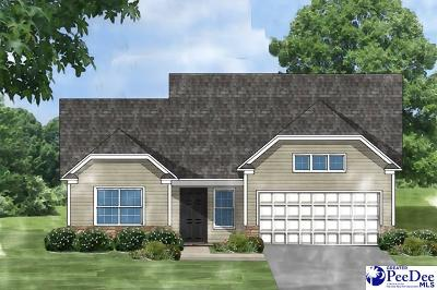 Florence SC Single Family Home Uc/Show For Back Up: $176,592