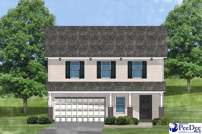 Florence SC Single Family Home Uc/Show For Back Up: $167,399