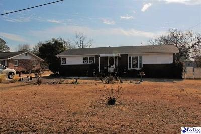 Hartsville Single Family Home Uc/Show For Back Up: 1529 E Home Avenue