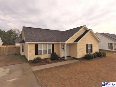 Effingham Single Family Home Uc/Show For Back Up: 2302 Womack Gardens Rd