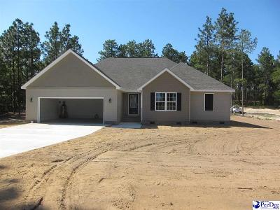 Hartsville SC Single Family Home Uc/Show For Back Up: $214,500