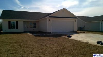 Florence County Single Family Home For Sale: 4016 Milan Road