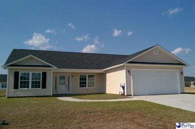 Florence County Single Family Home For Sale: 4015 Milan Road
