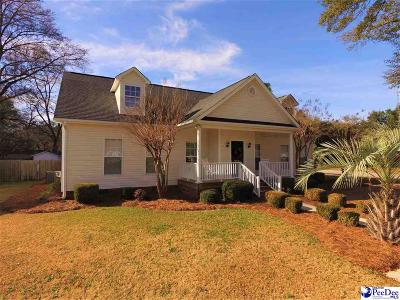 Florence Single Family Home Uc/Show For Back Up: 213 S Calhoun Drive