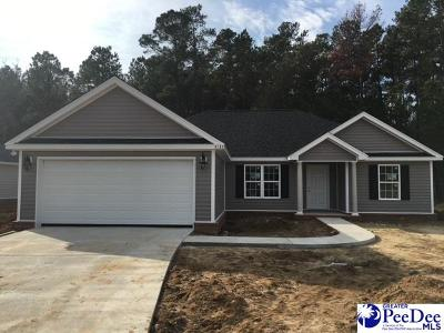 Florence County Single Family Home Uc/Show For Back Up: 3131 Haven Straits