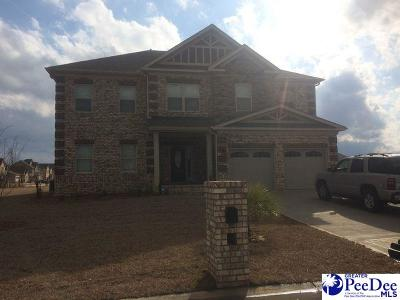 Florence Single Family Home Uc/Show For Back Up: 4200 Lake Hartwell Dr.