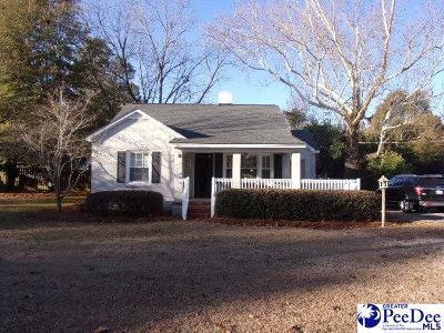 Hartsville Single Family Home For Sale: 112 Green Street