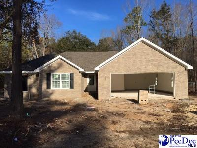 Hartsville SC Single Family Home Under Contingency Cont: $189,900