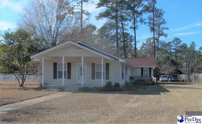 Dillon Single Family Home For Sale: 502 Roberts Road