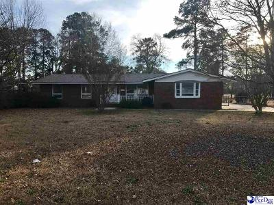 Florence Single Family Home For Sale: 3806 Pine Needles Road