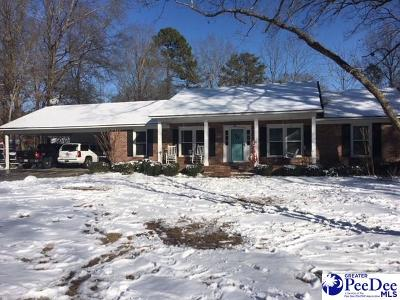 Hartsville Single Family Home Uc/Show For Back Up: 405 Deerwood Drive