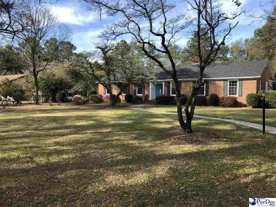 Hartsville Single Family Home For Sale: 116 Loring Dr