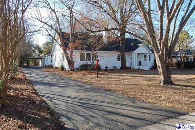 Hartsville Single Family Home For Sale: 404 E Richardson Circle