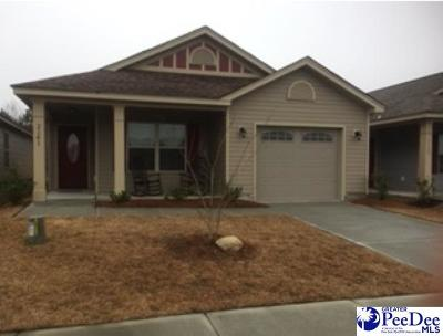 Florence County Single Family Home For Sale: 2141 Harbour Lane