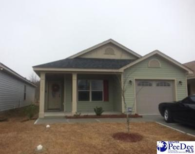 Florence County Single Family Home For Sale: 2145 Harbour Lane