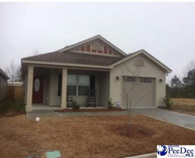 Florence County Single Family Home For Sale: 2151 Harbour Lane