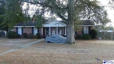 Florence SC Single Family Home For Sale: $79,900