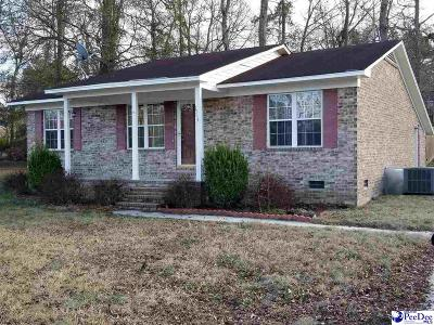 Hartsville Single Family Home Uc/Show For Back Up: 1303 E Home Ave