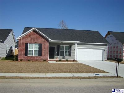 Florence County Single Family Home For Sale: 3006 Red Berry Circle