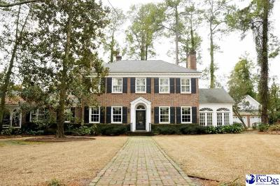 Florence SC Single Family Home For Sale: $925,000