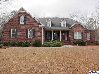 Hartsville SC Single Family Home Uc/Show For Back Up: $385,000