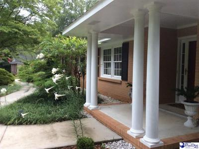 Hartsville SC Single Family Home Uc/Show For Back Up: $209,900