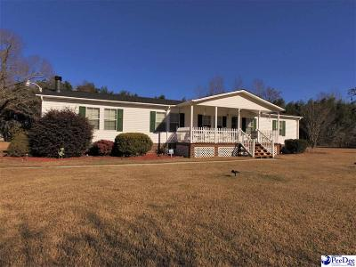 Florence Single Family Home Uc/Show For Back Up: 5317 E National Cemetery Rd