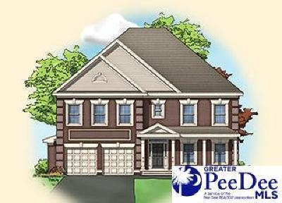 Florence SC Single Family Home New: $281,990