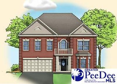 Florence SC Single Family Home Uc/Show For Back Up: $251,990