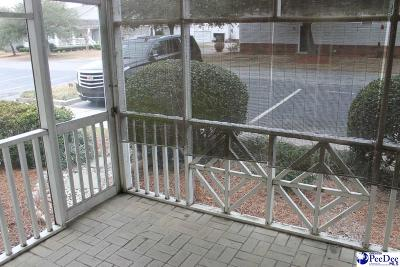 Florence SC Condo/Townhouse For Sale: $64,900