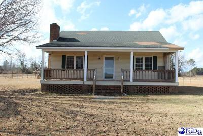 Timmonsville Single Family Home Uc/Show For Back Up: 1519 Cale Yarborough