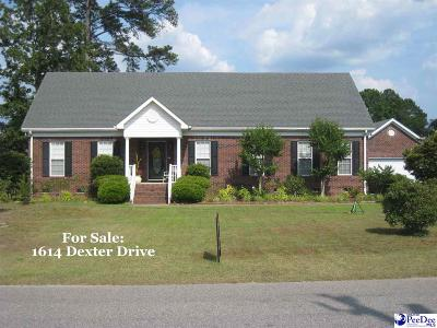 Single Family Home For Sale: 1614 Dexter Drive