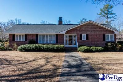 Hartsville Single Family Home For Sale: 104 Holly Dr