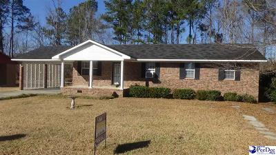 Kingstree Single Family Home For Sale: 103 Dove St.