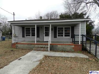 Hartsville Single Family Home For Sale: 904 S Sixth Street