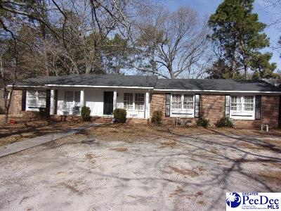 Hartsville Single Family Home Active-Extended: 1410 Ballentine