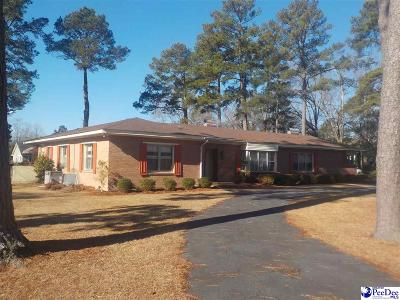 Bennettsville Single Family Home For Sale: 200 Tyson Avenue