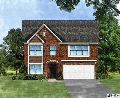 Florence SC Single Family Home Uc/Show For Back Up: $248,754