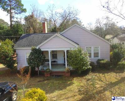 Florence Single Family Home Uc/Show For Back Up: 1456 King Avenue