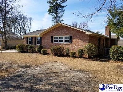Florence Single Family Home Uc/Show For Back Up: 3912 W Lake Drive