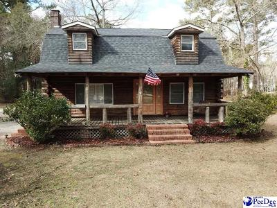 Timmonsville Single Family Home For Sale: 2467 Oliver Road
