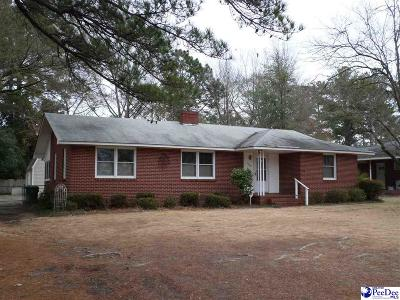 Florence Single Family Home Uc/Show For Back Up: 1106 Cheraw Drive