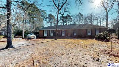 Hartsville Single Family Home Under Contingency Cont: 443 Oakdale Drive