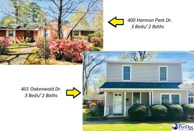 Marion Single Family Home For Sale: 400 Harmon Park